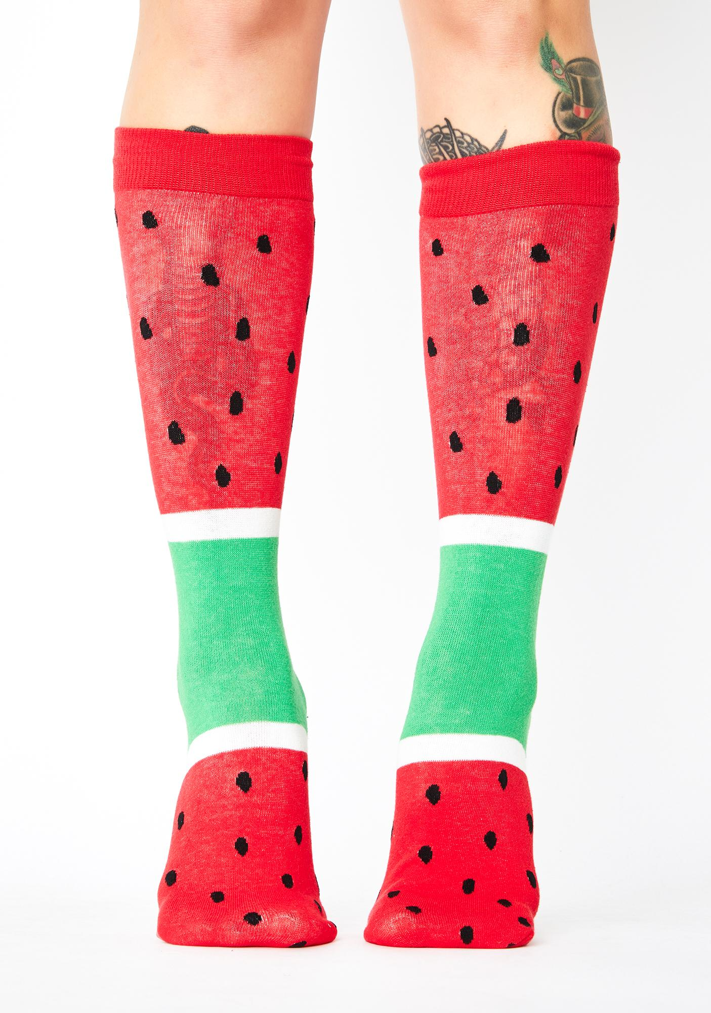 Anything Is Popsicle Graphic Socks