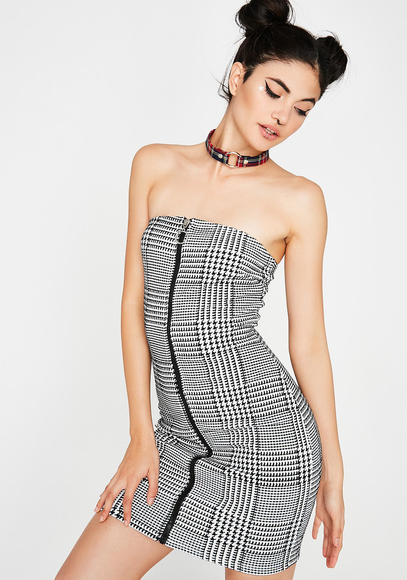 Gone Mod Mini Dress