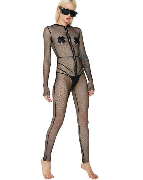 Fear Factor Mesh Bodysuit