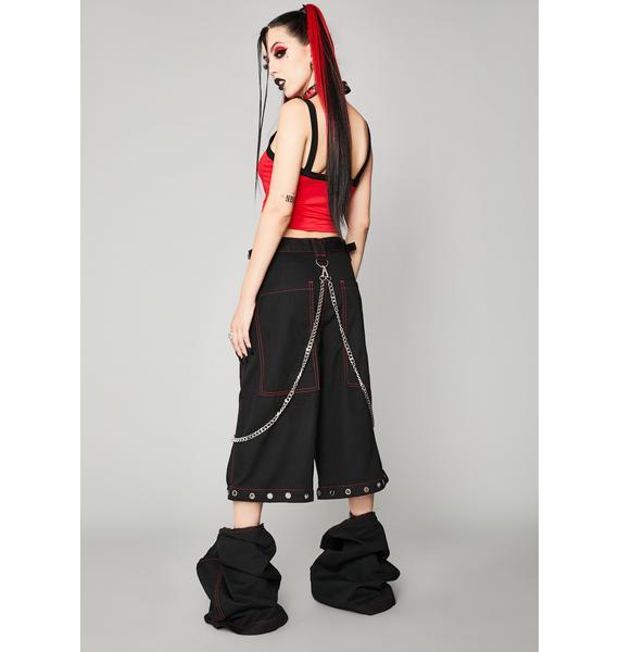 Widow Power Of Evil Convertible Wide Leg Pants