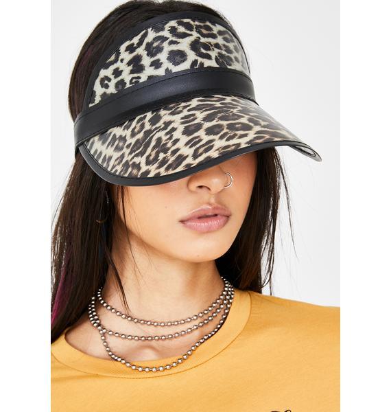 Fierce Lookz Leopard Visor