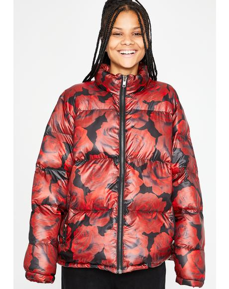 Somebudy To Luv Puffer Jacket