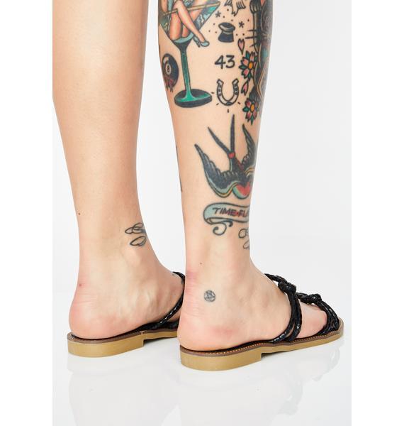 Spring Poison Snake Sandals