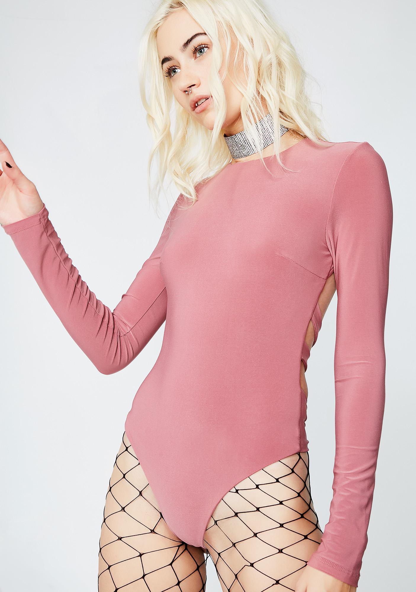 Missing Piece Cut-Out Bodysuit