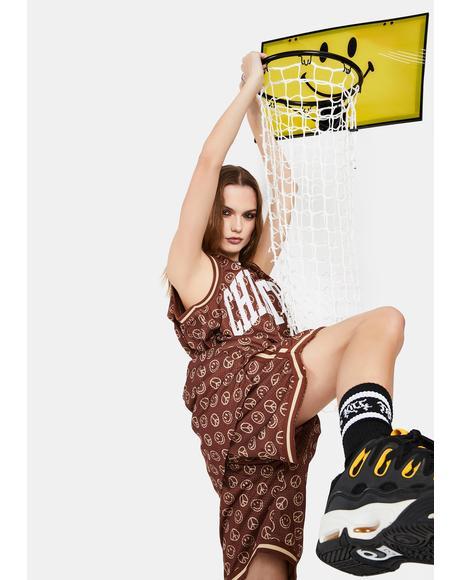 Smiley Basketball Hamper