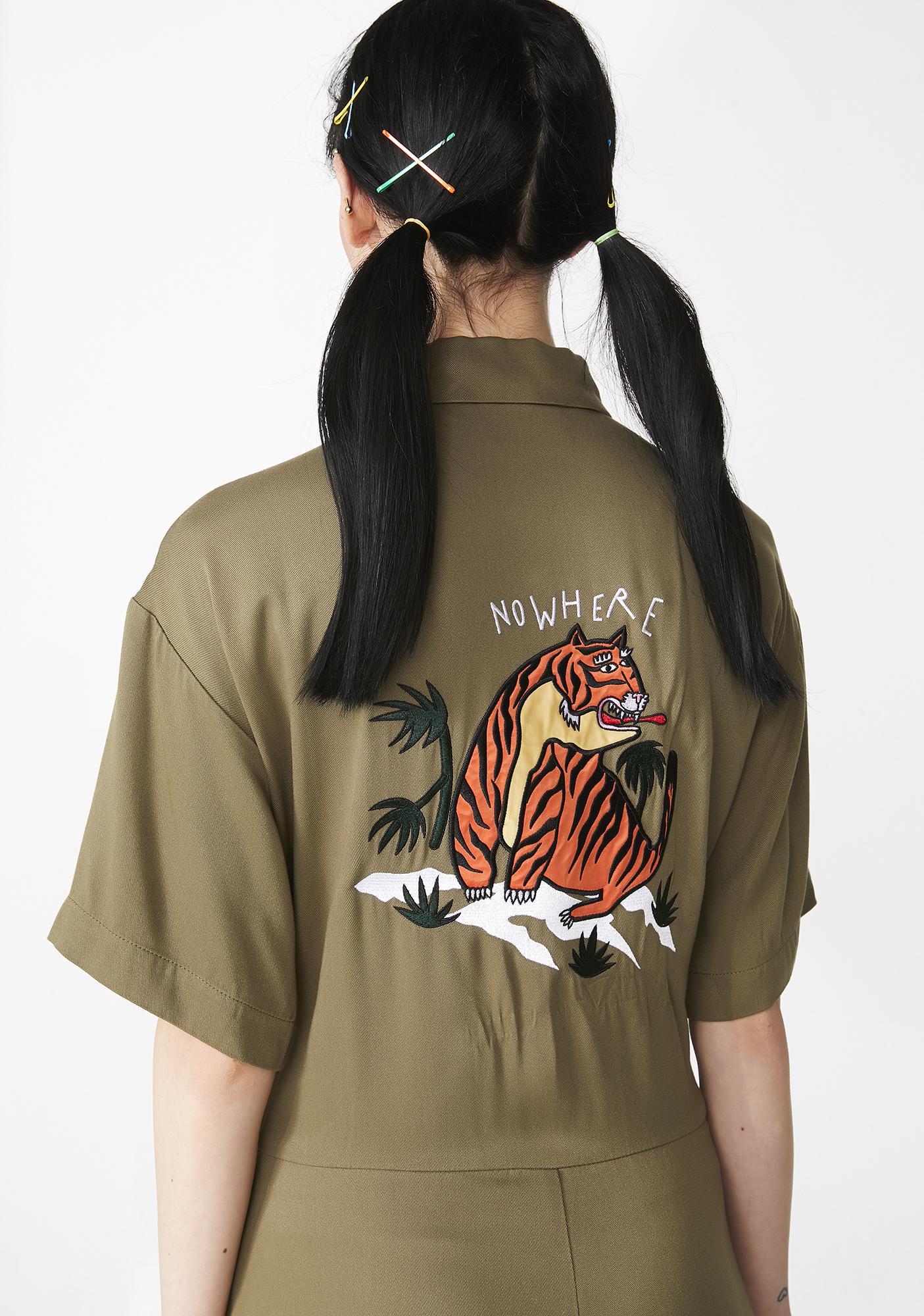 Lazy Oaf Nowhere Tiger Jumpsuit