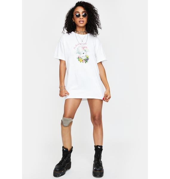 NEW GIRL ORDER Go Flock Yourself Graphic Tee