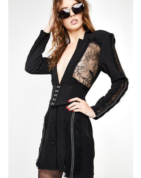 Le Smoking Mini Dress