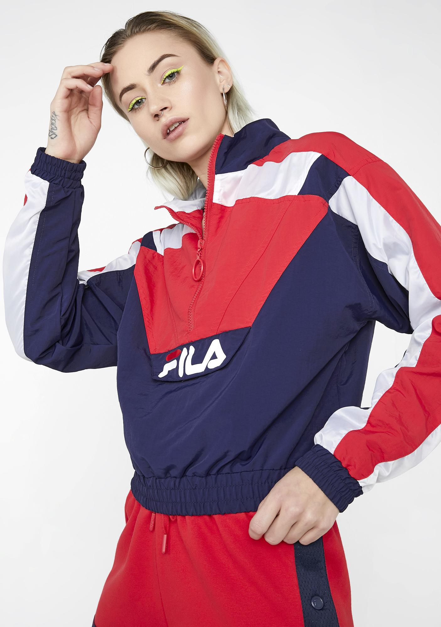 Fila Berry Conchita Half Zip Wind Jacket