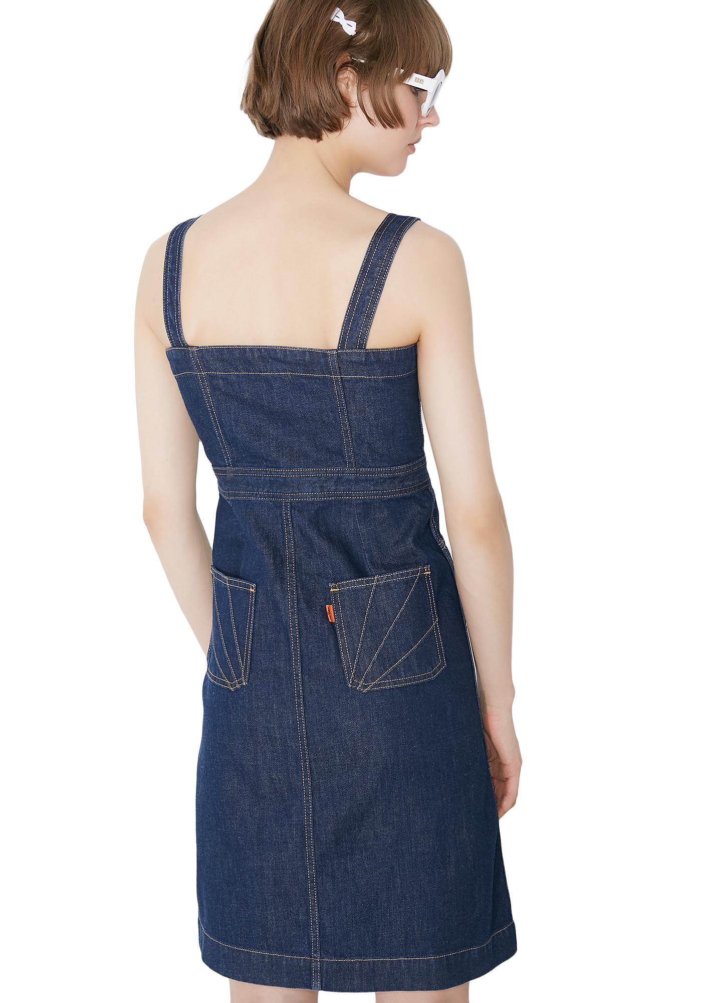 Levis Orange Tab Dress
