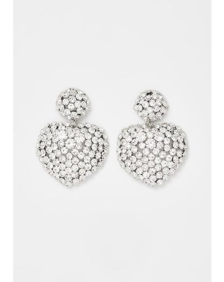 Luxe Lover Rhinestone Earrings