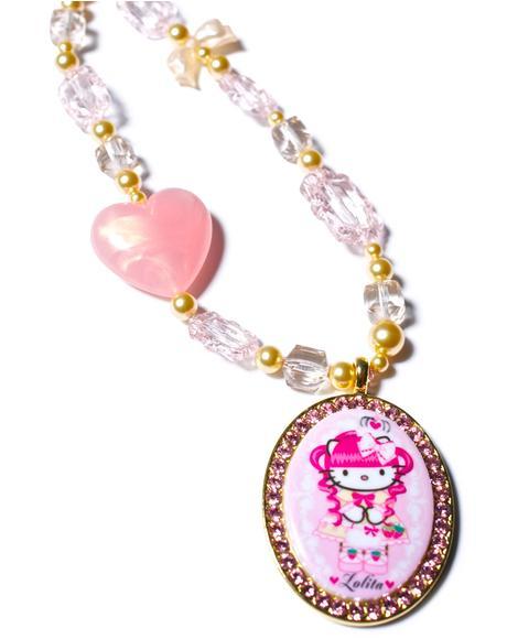Gothic Lolita Multibead Necklace