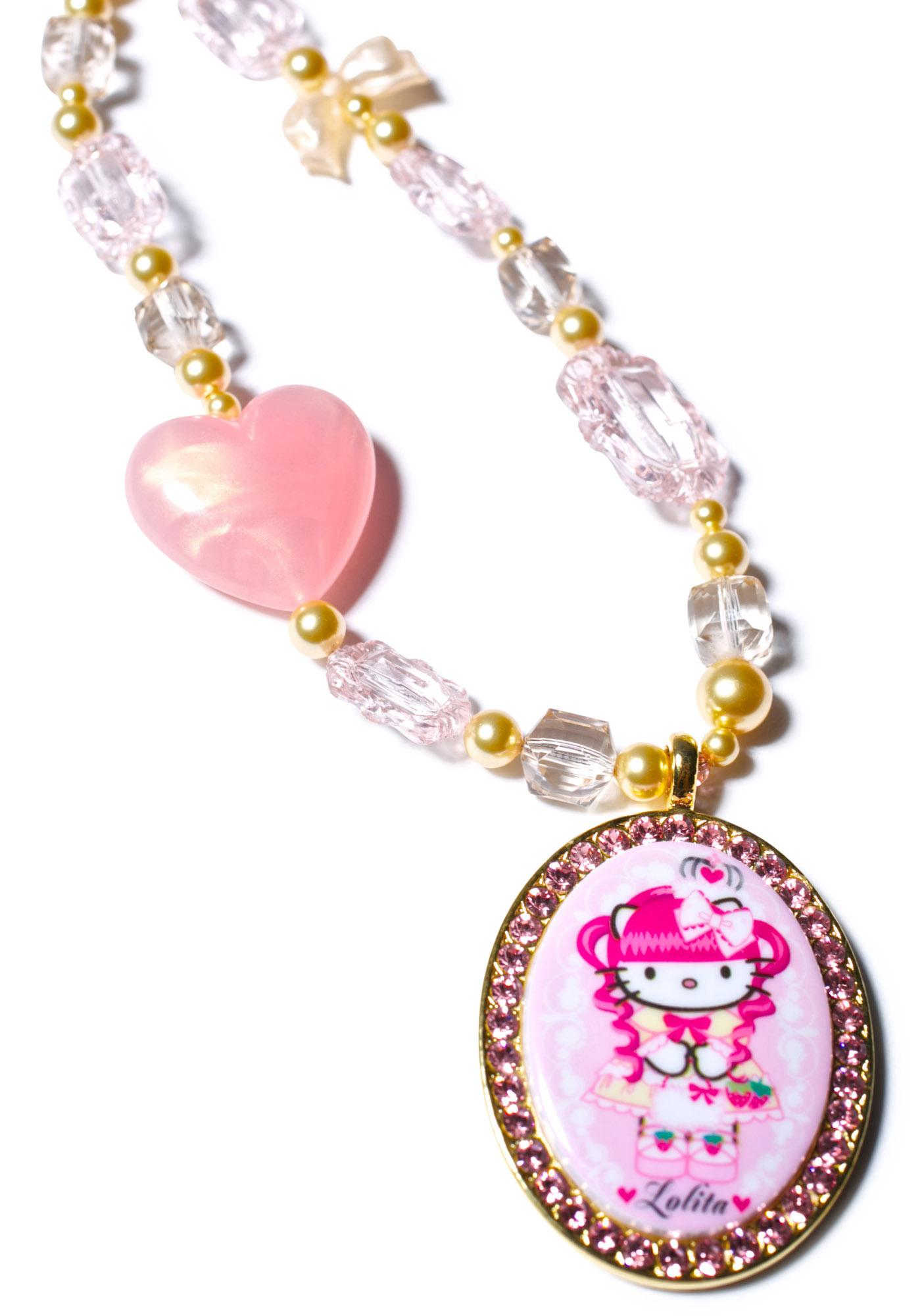 Tarina Tarantino Gothic Lolita Multibead Necklace
