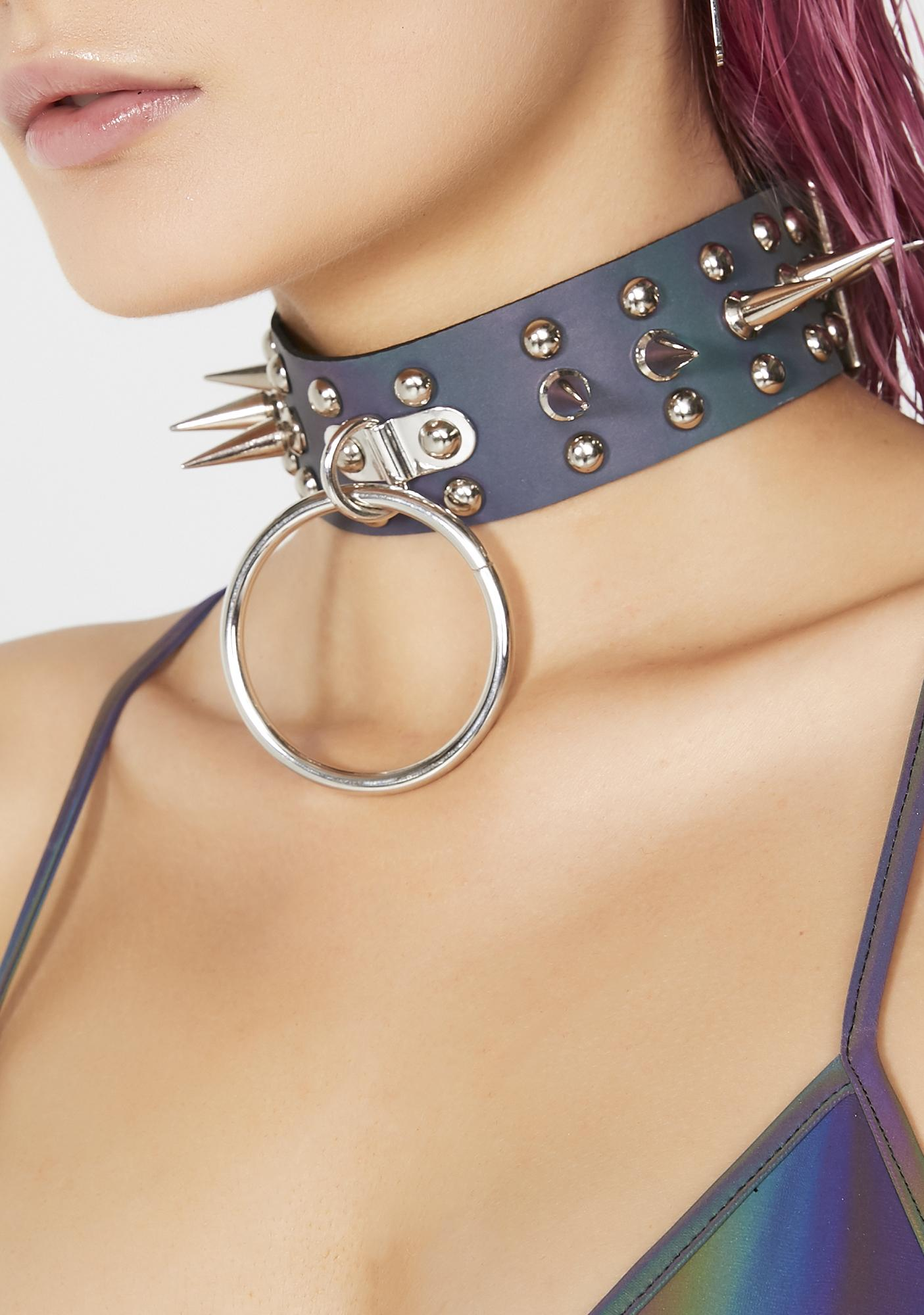 Space Renegade Reflective Choker