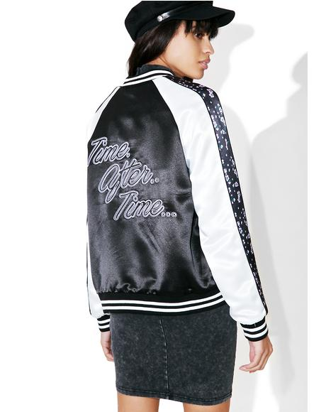Time After Time Bomber Jacket