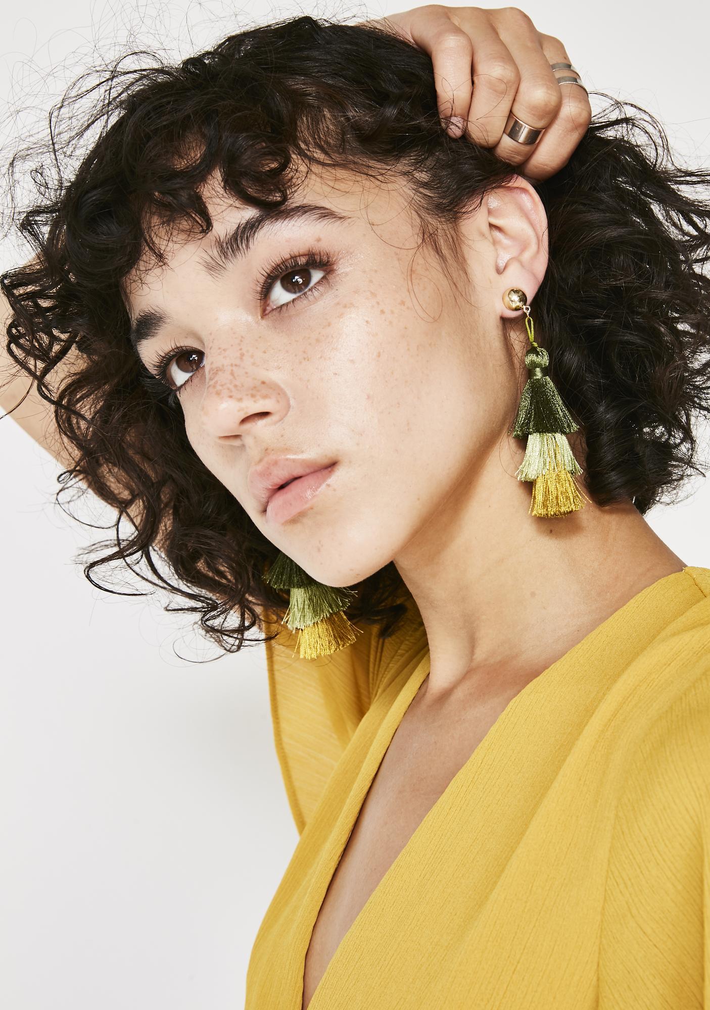 On The Fringe Earrings