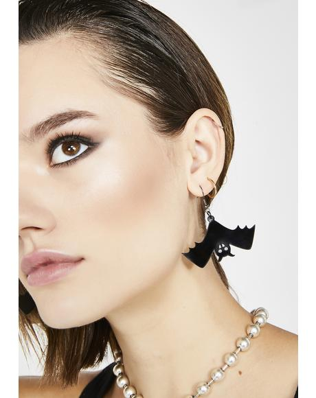 Bat Crazy Earrings