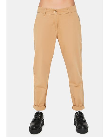 Give Me Everything Low Rise Trousers