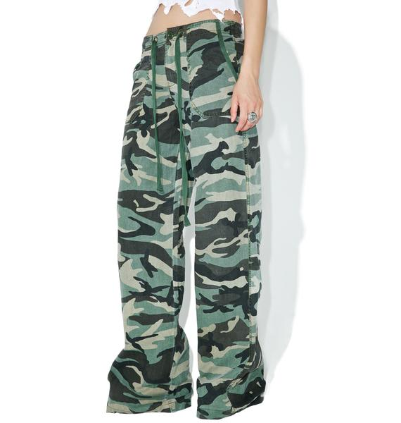 World Go 'Round Camo Pants