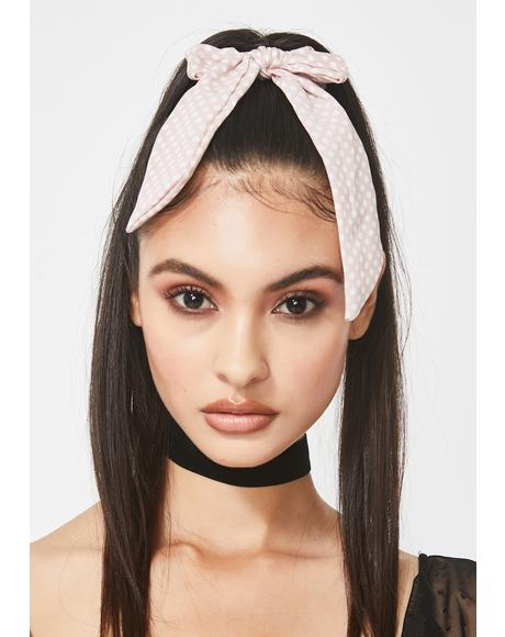 Darling Lover Polka Dot Hair Tie