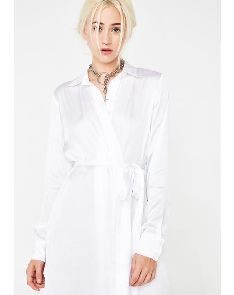 Angelic Veil Tunic Dress