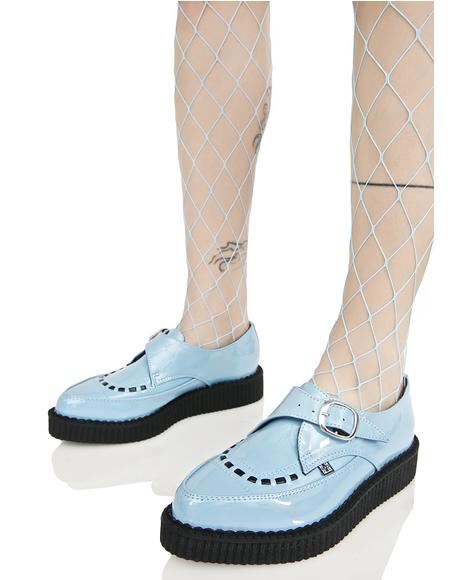 Blue Buckle Creepers