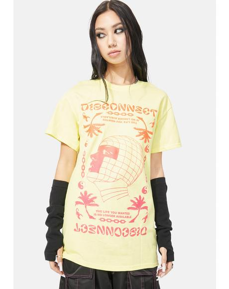 Disconnect Graphic Tee