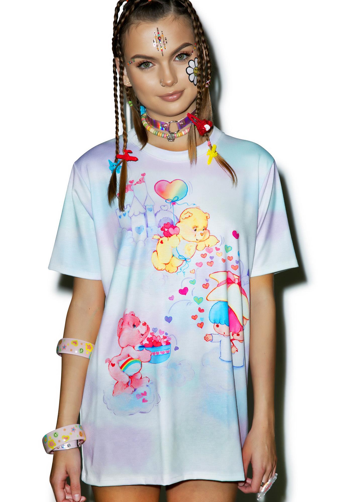Japan L.A. Little Twin Stars X Care Bears Cloudy Dream Top