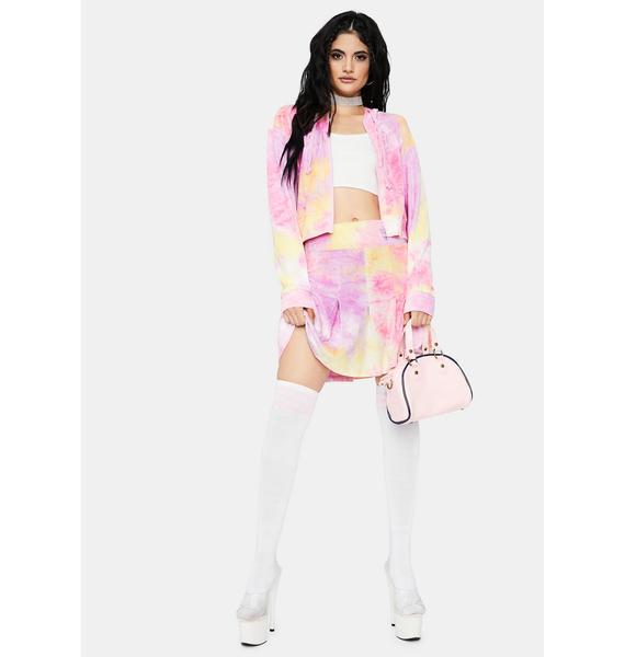Sweeter Than Candy Tie Dye Skirt Set