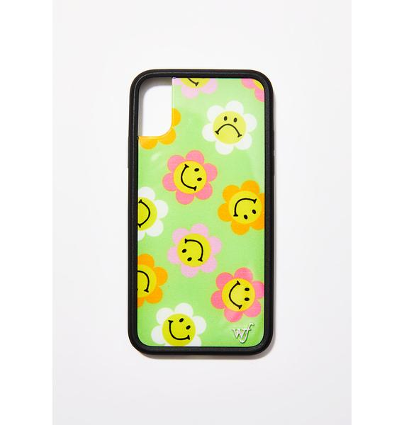 Wildflower Happy Flowers iPhone Case