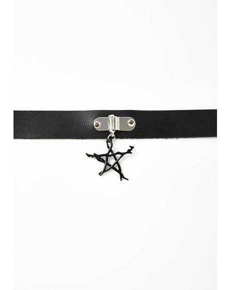 For A Spell Star Choker