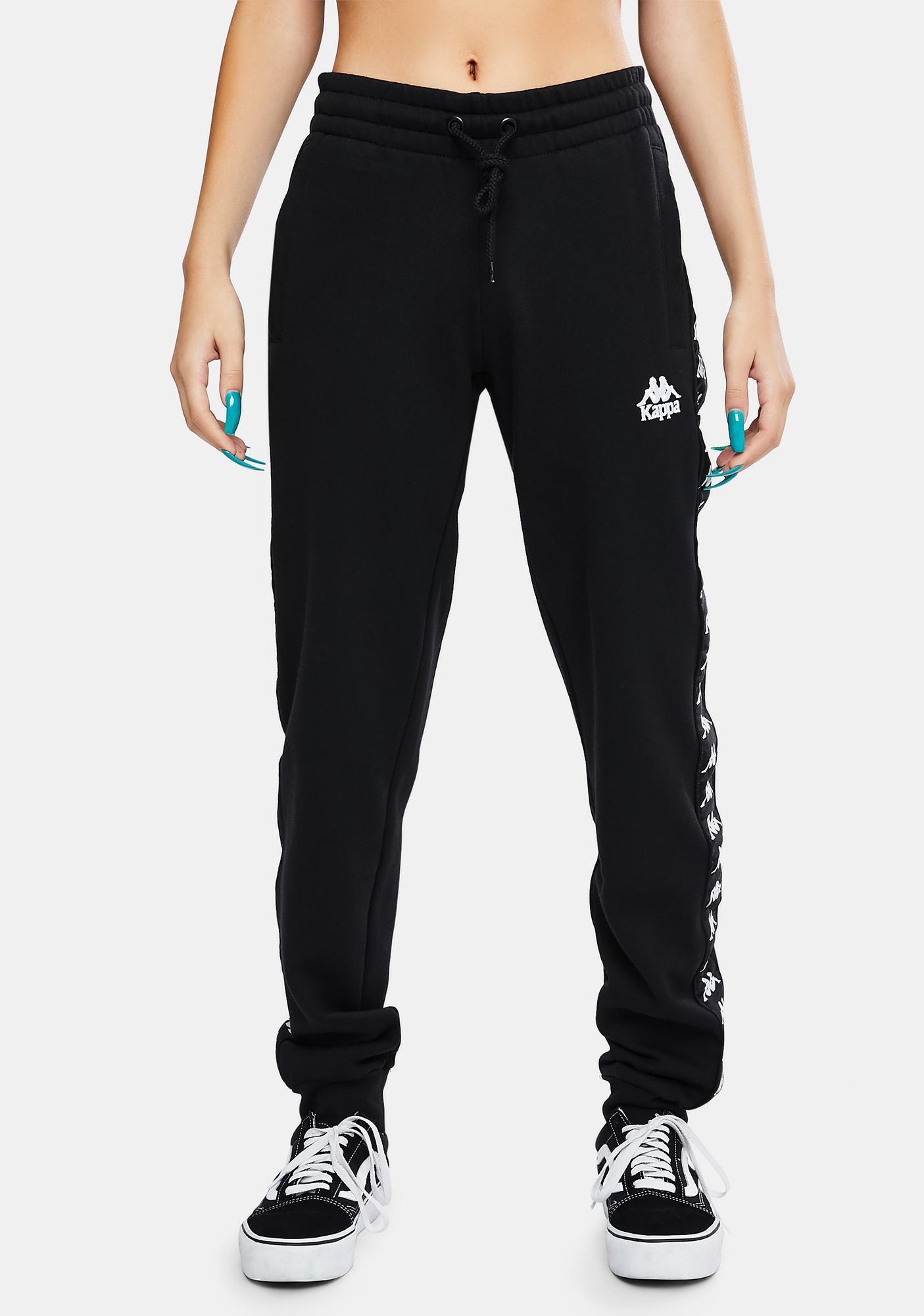 Kappa 222 Banda Barnu 2 Black Track Pants