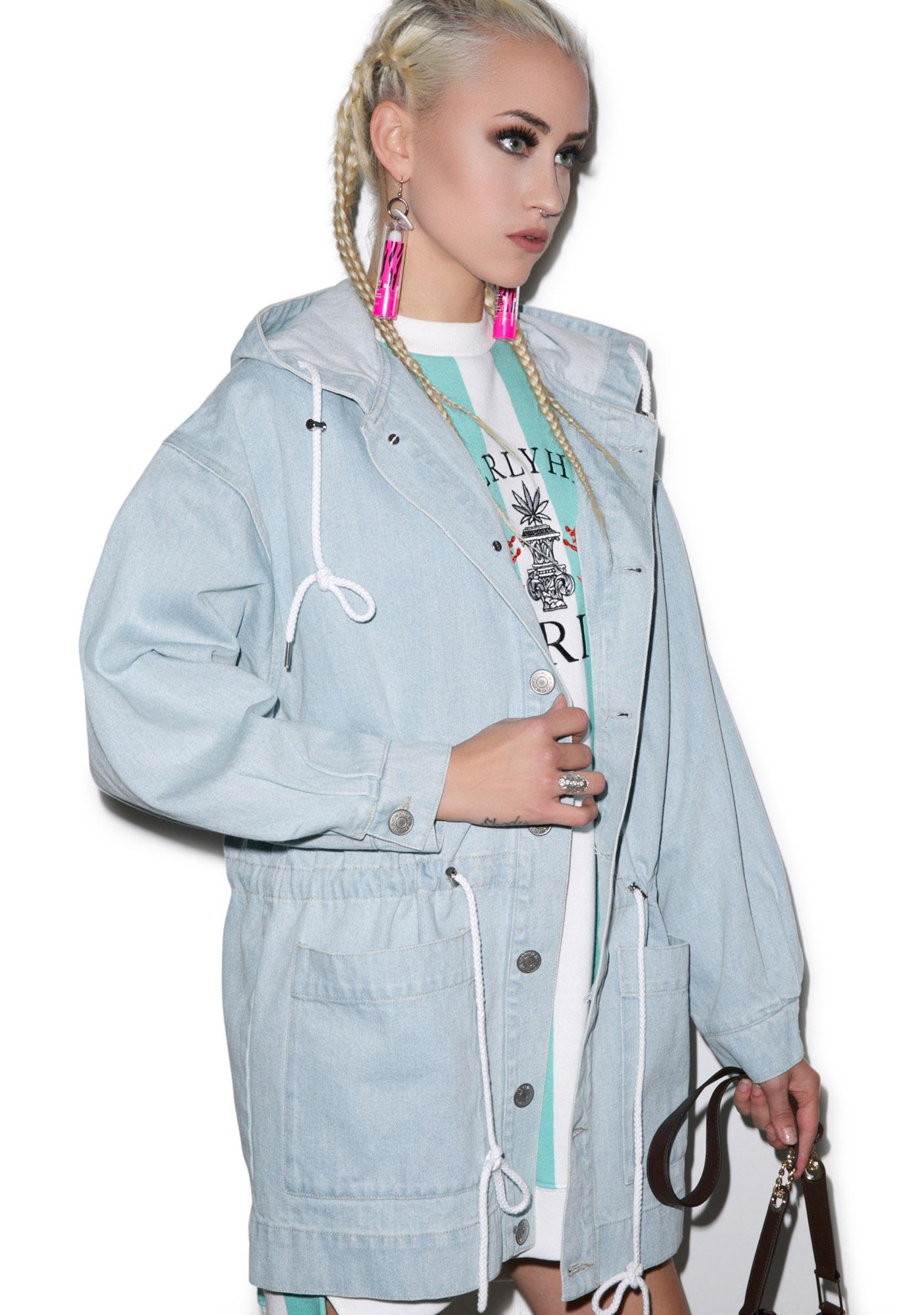 Joyrich High Beverly Hills Denim Coat