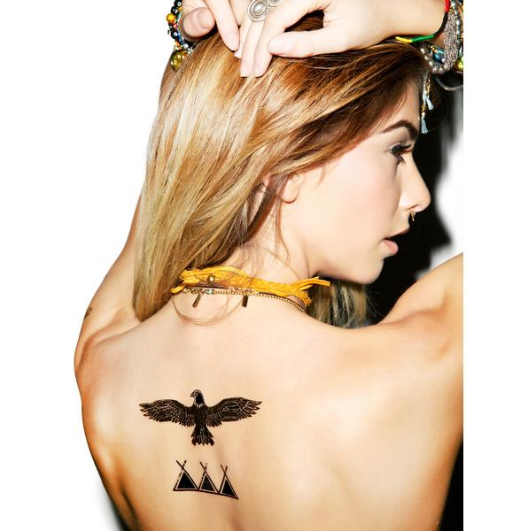 Shooter Temp Tattoo Set