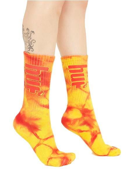 Acid Burst Crew Socks