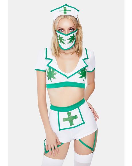 Nurse High Costume Set