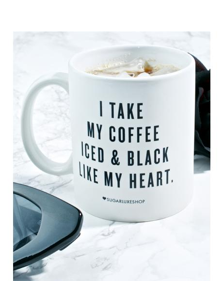 Iced 'N Black Coffee Mug