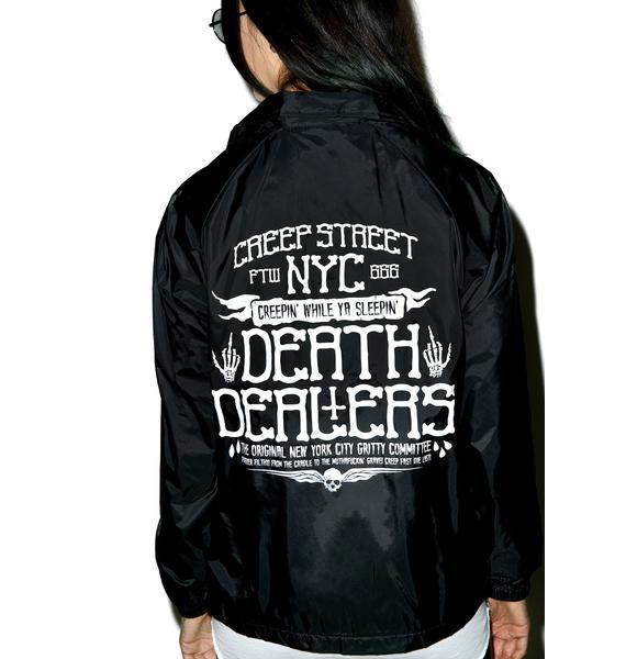 Creep Street Death Dealers Coaches Jacket