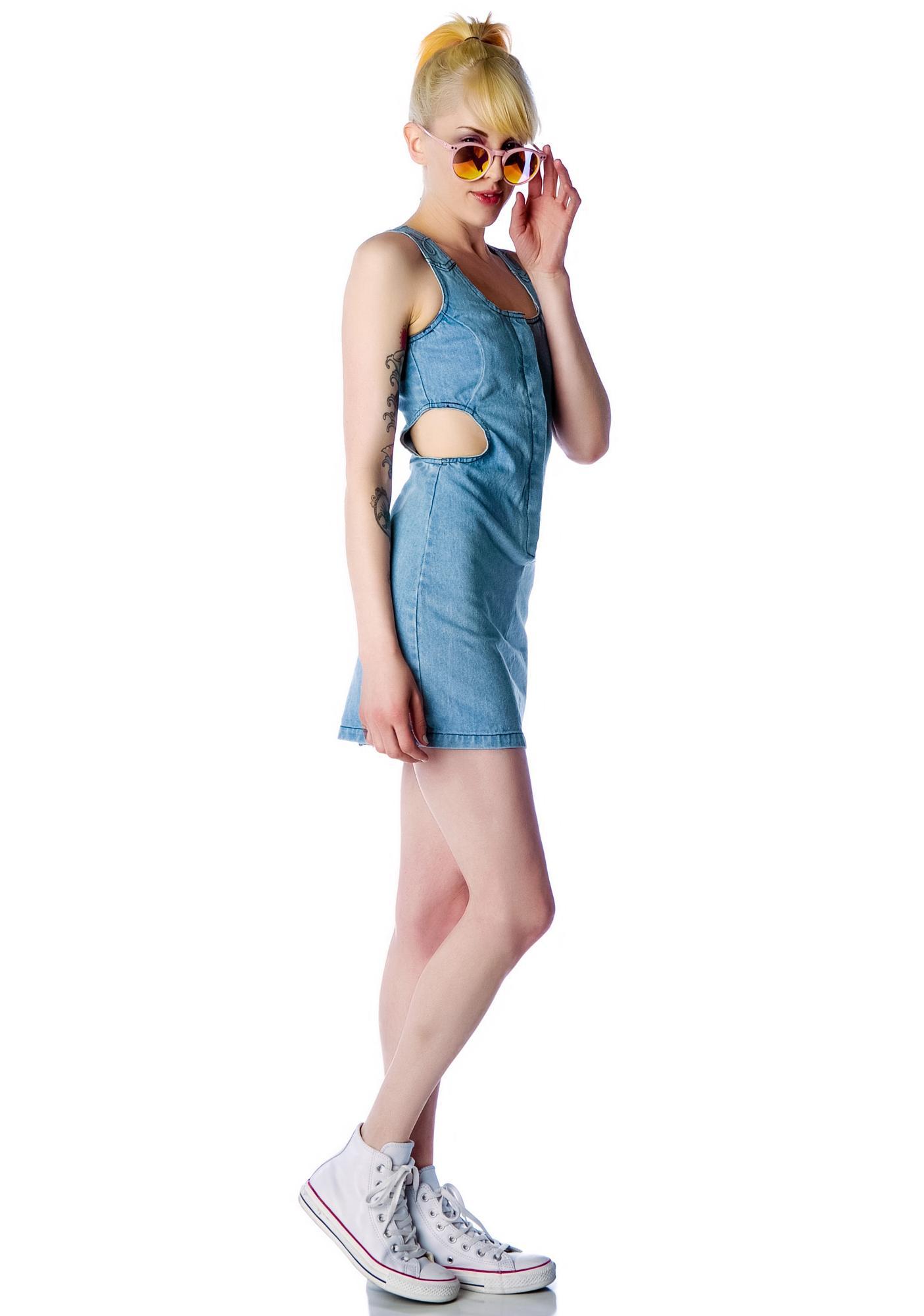 One Teaspoon Freaky Love Denim Dress