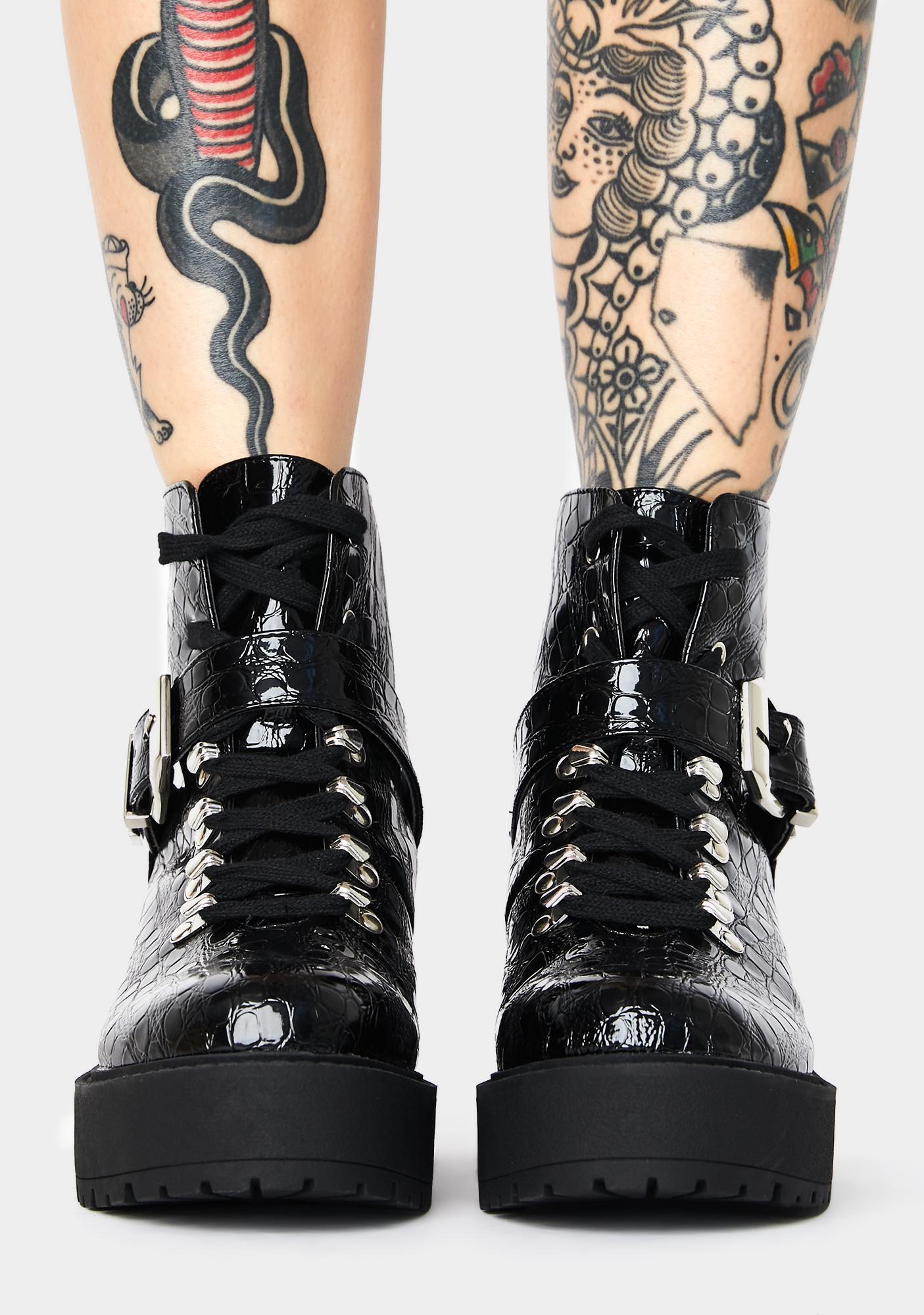 Public Desire Attitude Ankle Boots