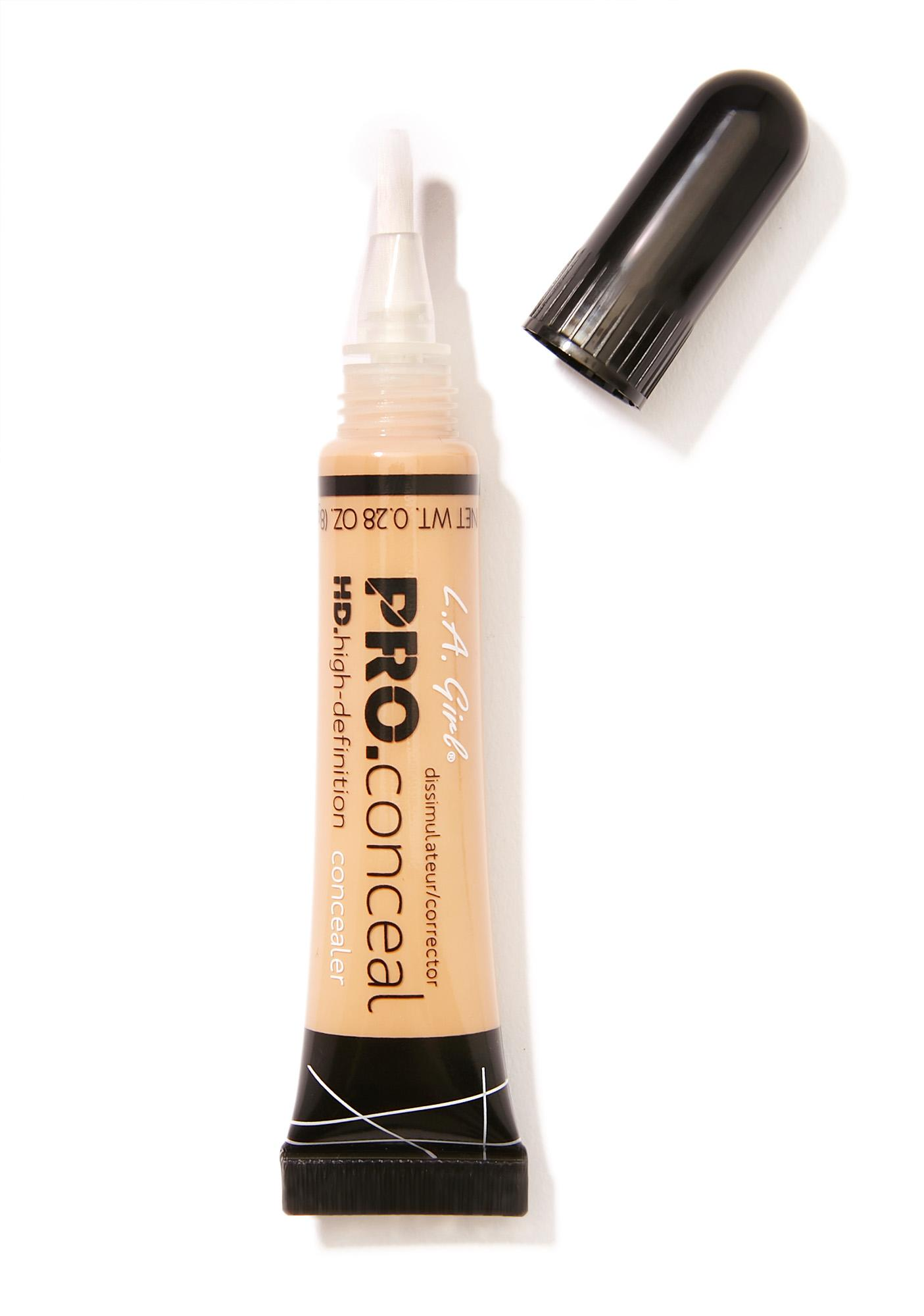 LA Girl HD Pro Medium Beige Concealer