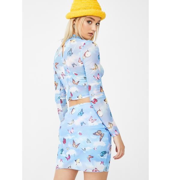 Motel Butterfly Kinnie Skirt