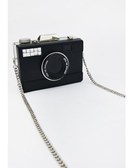 Smile For The Camera Crossbody Bag