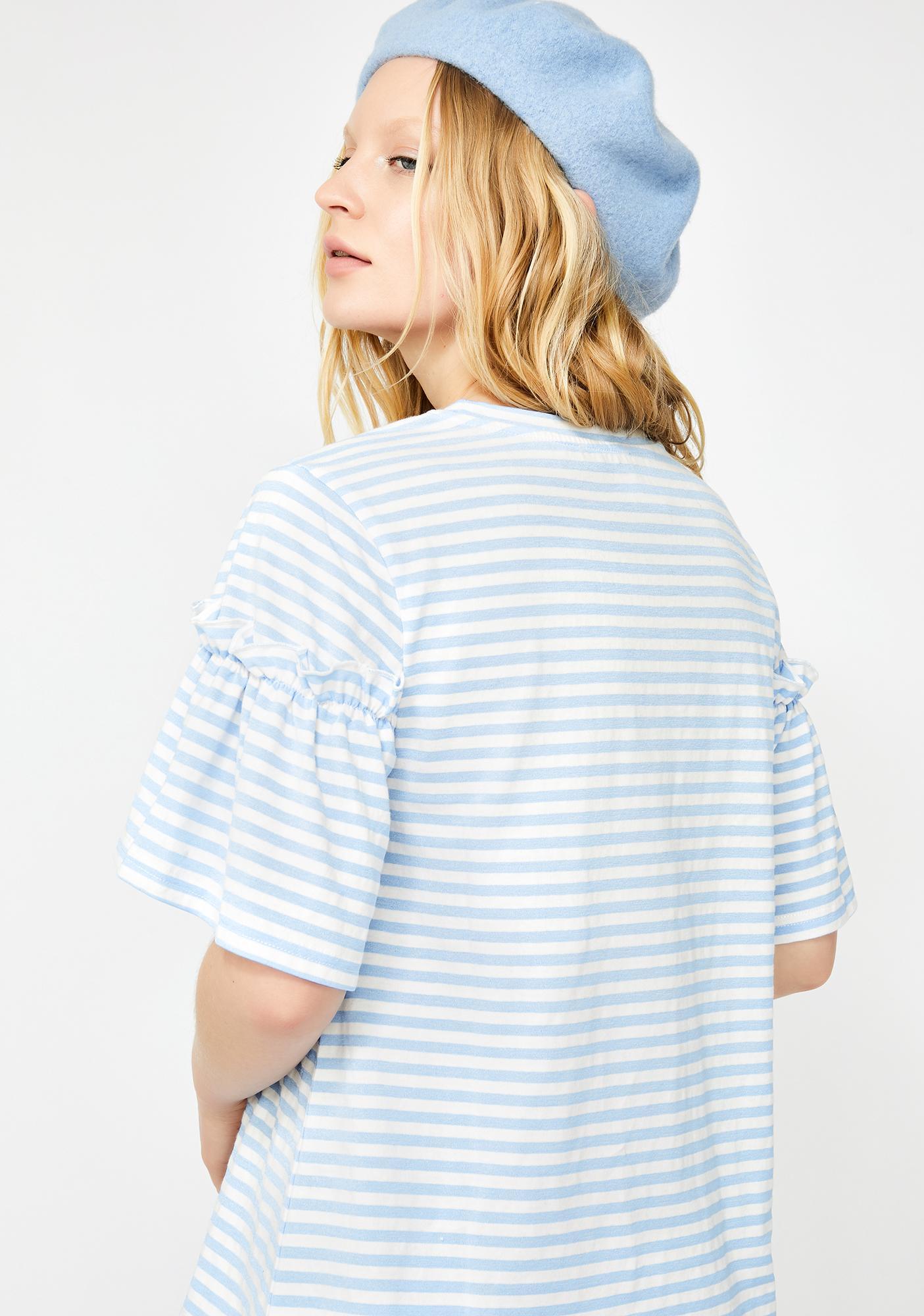 Soft Spot Striped Tee