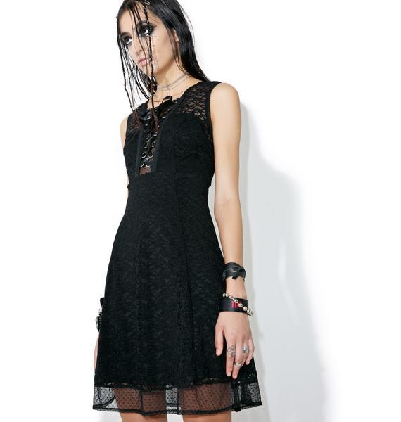 Tripp NYC Sweet Jane Lace-Up Dress