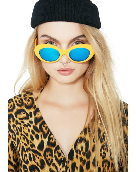High Contrast Love Tempo Sunglasses