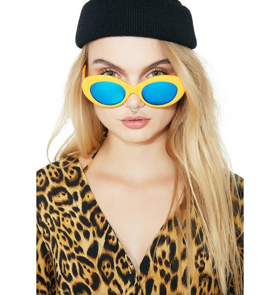 Crap Eyewear High Contrast Love Tempo Sunglasses