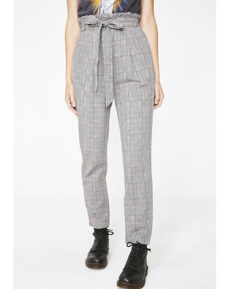 Test Me Plaid Pants