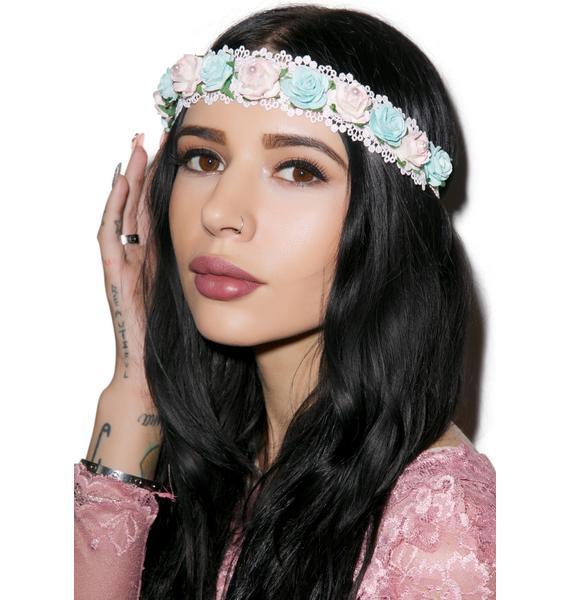 Smell Like Roses Headband