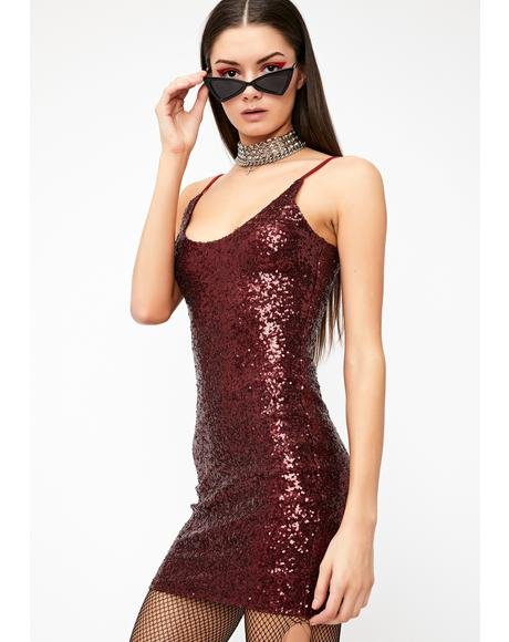 Blindin' Shine Sequin Dress
